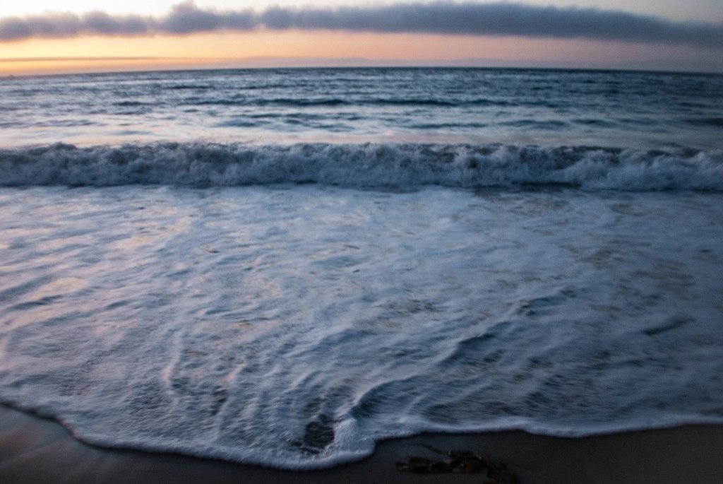 Hello, Pacific Ocean.