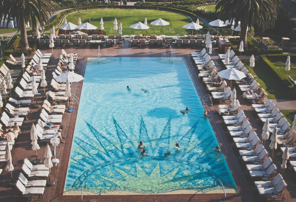 Pool at the Montage in Laguna Beach