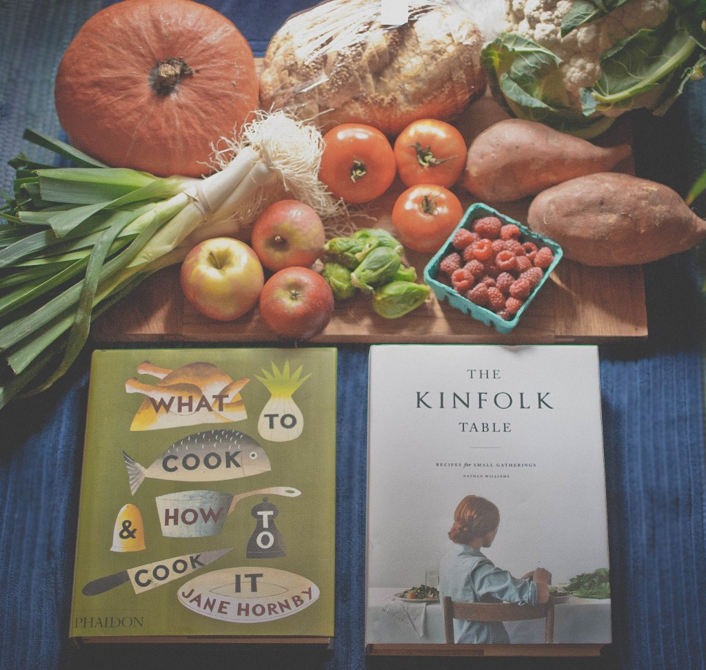 New cookbooks and Saturday market fare