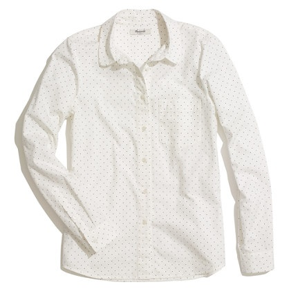 Pindot Collar Boyshirt