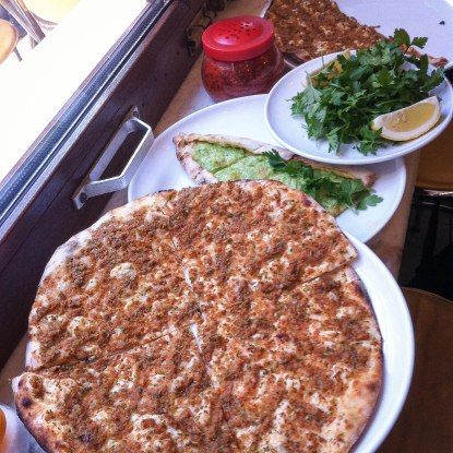 Lahmacun and pide