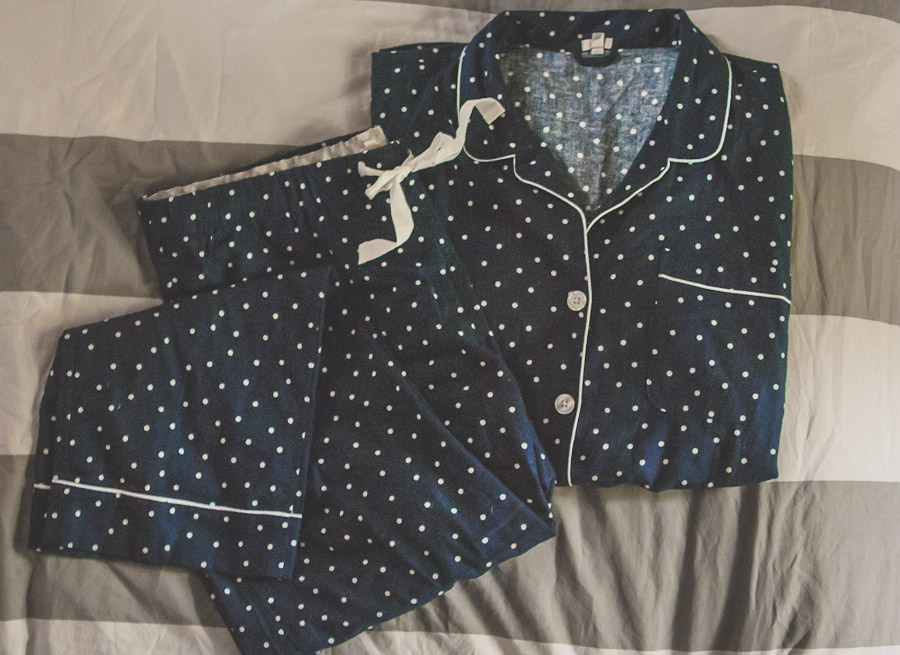 Cute new pajamas from the J. Crew Factory sale!