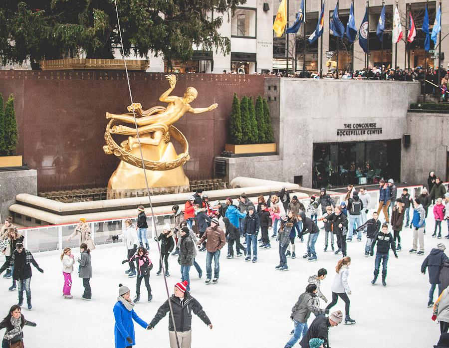 Rockefeller skaters