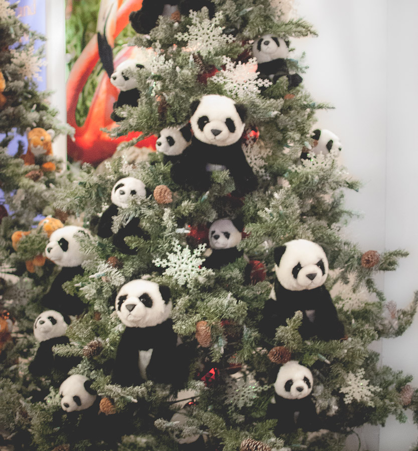 Now I want a panda Christmas tree