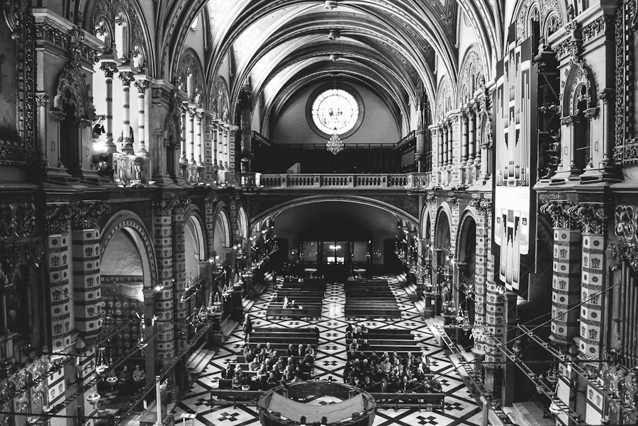Santa Maria abbey at Montserrat