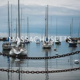Massachusetts.button
